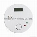 LCD show Carbon Monoxide alarm with
