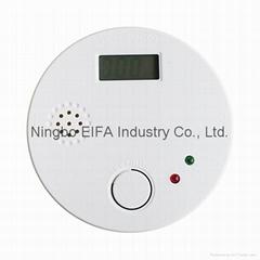LCD show Carbon Monoxide alarm with EN50291 standard