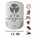 electromagnetic Mouse repellent with LED night lamp