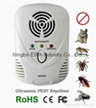 electromagnetic Mouse repellent with LED night lamp 1