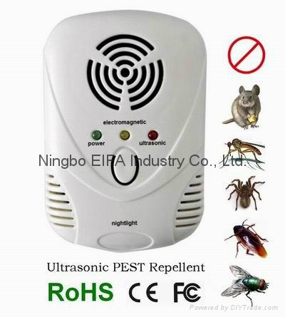 2pack Ultrasonic Pest Repeller/electronic pest control repeller  2