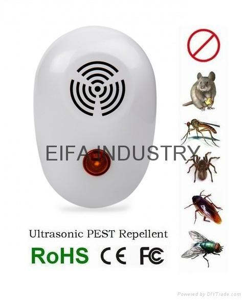 3 pack mini ultrasonic pest repellent  2