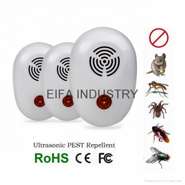 3 pack mini ultrasonic pest repellent  1