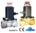 5 years quality guarantee Natural gas solenoid valve
