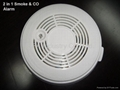 DC9V 2 in 1 Smoke & CO Alarm