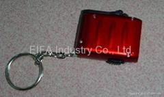 Mini Led Hand Rotary Dynamo Flash Light