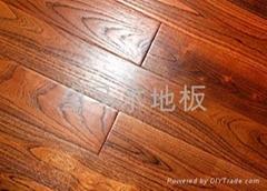 金剛柚實木彫刻仿古地板