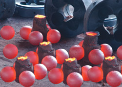 Casting grinding balls  1