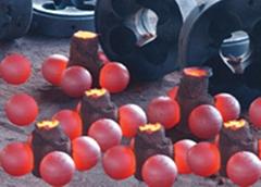 Casting grinding balls