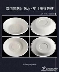 家團圓6英吋紙漿淺碗