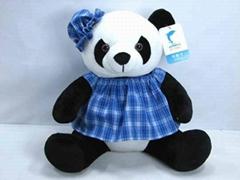 毛絨玩具熊貓