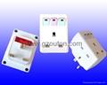 UK Plug Adaptor (with lighting Switch)