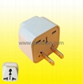 2  Flat  Pin  Plug  Adaptor(WD-6)