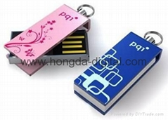 mini slim usb flash 2.0 stick Memory Stick Pen Drive (HDY-MN9)