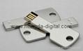 key shaped usb flash drive Memory stick