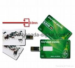 3.0卡片U盘、礼品U盘、名片U盘、可定制LOGO图