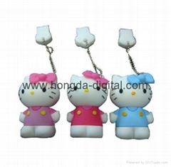 Cartoon Hello Kitty USB Flash Driver / Memory Stick/ Pen Drive(HDY-PVC08)