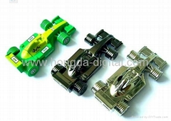 賽車U盤、F1賽車U盤、車模型U盤、可定製LOGO圖