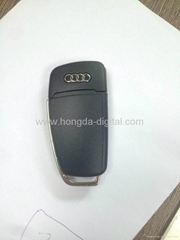 Audi Car Key USB Flash Drives Memory stick pen drive(HDY-CYS09)