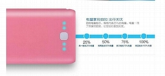 20000mAh Polymer Mobile Power Bank For Apple For Samsung Smart Phones (HDY-DY09)