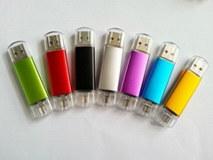 OTG Cellphone USB flash drives Memory stick pen drive(HDY-SJ02)