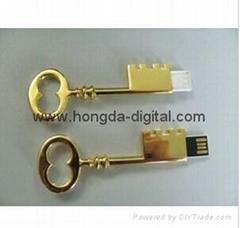 鑰匙U盤、金屬U盤、創意U盤、可定製
