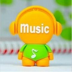 音樂人U盤、卡通U盤、個性U盤、可定製