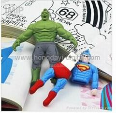 超人U盤、綠巨人U盤、卡通U盤、可定製