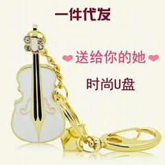Guitar Shaped USB Flash Drives Memory stick pen drive(HDY-SJ001)
