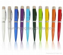 U盤筆、激光U盤筆、U盤、可定製LOGO