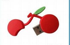 蘋果U盤、草莓U盤、水果U盤、可定製