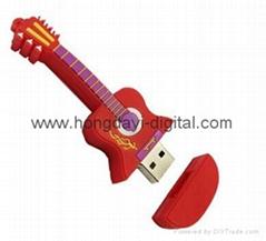吉他U盘、乐器U盘、创意U盘、可定制