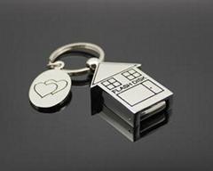 小房子U盤、金屬U盤、情侶U盤、可定製
