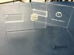 透明卡片U盤、內雕卡片U盤、卡片U盤、可定製
