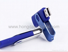 Hot Selling Swivel OTG Cellphone USB Flash Drive/Memory Stick/USB Pen  (H-SL31)  (Hot Product - 1*)