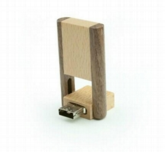 旋轉U盤、木頭U盤、禮品U盤、可定製