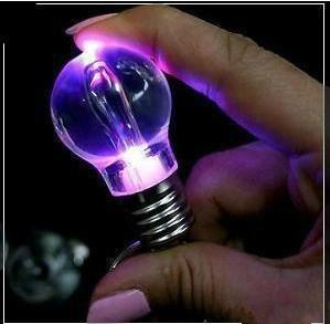 灯泡U盘、发光U盘、礼品U盘、可定制 2