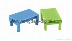 Chair and Desk Shape    USB Flash Drive/ Memory Stick/ Pen Drive (H-PVC58)