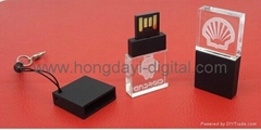 Hot selling Mini Crystal USB Flash Drive/ Memory Stick/ Pen Drive (H-SJ14)