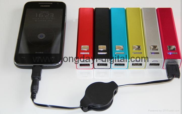 方柱电源、便携式电源、移动电源、可定制LOGO ,礼品商务电源 9