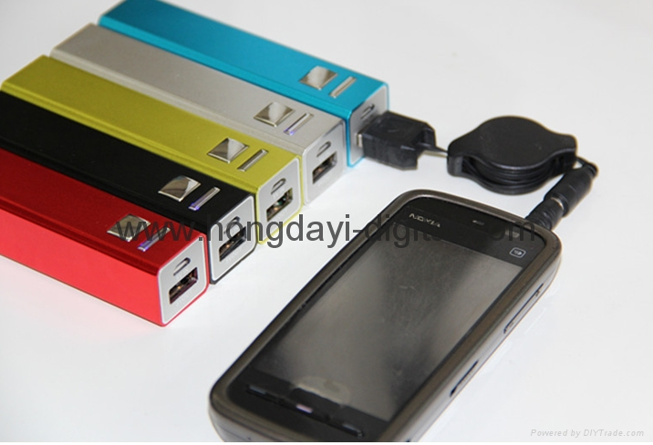 方柱电源、便携式电源、移动电源、可定制LOGO ,礼品商务电源 7