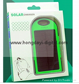 Hot Sale Waterproof Design Solar Power Bank With  LED Panel