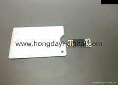 Credit Card USB Memory Disk  / Memory Stick/ Pen Drive(HDY-XYK07)