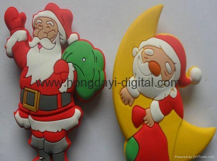 圣诞礼物U盘、圣诞U盘、创意U盘、可定制 10