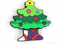 圣诞礼物U盘、圣诞U盘、创意U盘、可定制 6