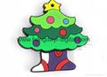 Christmas Gift Box Shaped USB Flash Drive Memory stick pen drive(HDY-SDJ03) 6