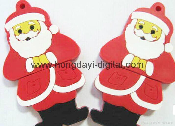 Christmas Gift Box Shaped USB Flash Drive Memory stick pen drive(HDY-SDJ03) 5