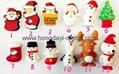 Christmas Gift Box Shaped USB Flash Drive Memory stick pen drive(HDY-SDJ03) 2