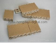 Portable paper  USB Flash Drive Memory stick pen drive (HDY-MT10)