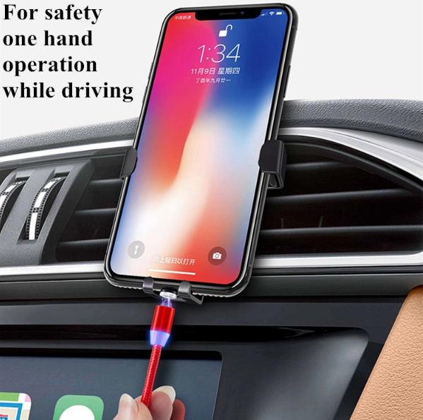 Mobile Phone Straight Magnet Data Cable 3 In 1 Magnetic Fast Charging Usb Data  5